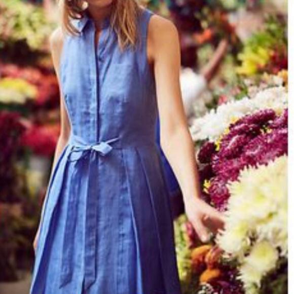 499306e56c Anthropologie Dresses   Skirts - anthropologie HD in paris printemps linen  dress
